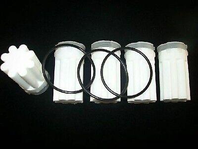 """5x Siku-filter 35 µm Sternform Weiß 70 Mm Baulänge Für 3/8"""" Heizölfilter Vertrieb Von QualitäTssicherung"""