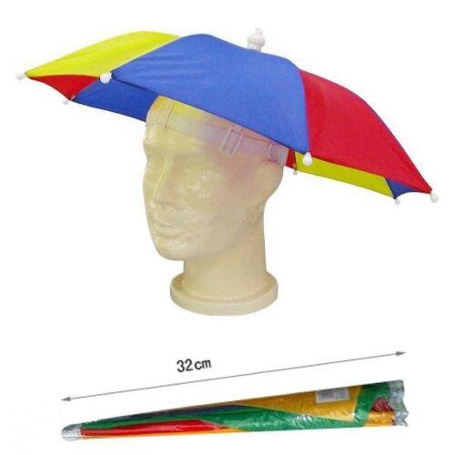 Ombrello Cappello Novità Adulto Costume Donna Cappello Da Uomo Multi Colore Festival Cappello