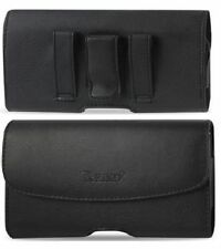 FOR IPHONE 4/4S LEATHER POUCH BELT LOOP BELT CLIP HOLSTER CASE