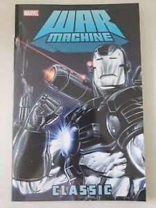 WAR-MACHINE-Vol-1-CLASSIC-TPB-2010-MARVEL-COMICS-IRON-MAN-BRAND-NEW-UNREAD