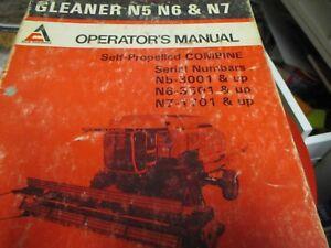 Allis chalmers gleaner n5 n6 n7 self propelled combine operators image is loading allis chalmers gleaner n5 n6 n7 self propelled publicscrutiny Images