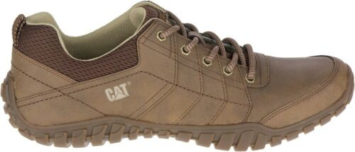 CAT CATERPILLAR Instruct P722311 Leather Sneakers Casual Trainers Shoes Mens New