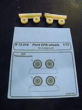 CMK Blitz B72014 1/72 Resin Detail Kit WWII Wheels for Ford GPA