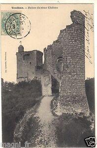 41-cpa-Vendome-die-Ruinen-der-altes-chateau-i-5743