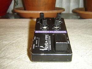 vesta fire stereo flanger vintage guitar pedal ebay. Black Bedroom Furniture Sets. Home Design Ideas