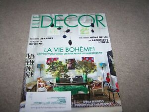 elle decor magazine sept/oct 2020 rock star home office
