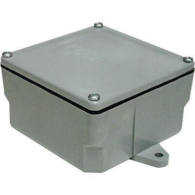 "Cantex 5133710U PVC Molded Junction Box,  6"" x 6"" x 4"""