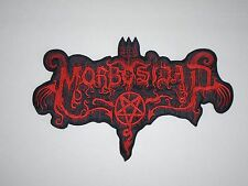 MORBOSIDAD  BLACK DEATH METAL EMBROIDERED BACK PATCH