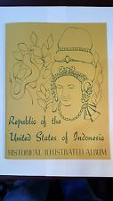 Complete collection of 101 MNH stamps-Republ.of the United states of Indonesia