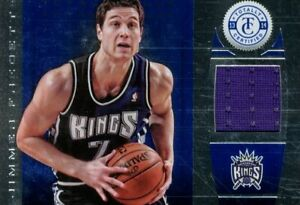 2013-14 Totally Certified Materials Blue Card #146 Jimmer Fredette Jersey /99