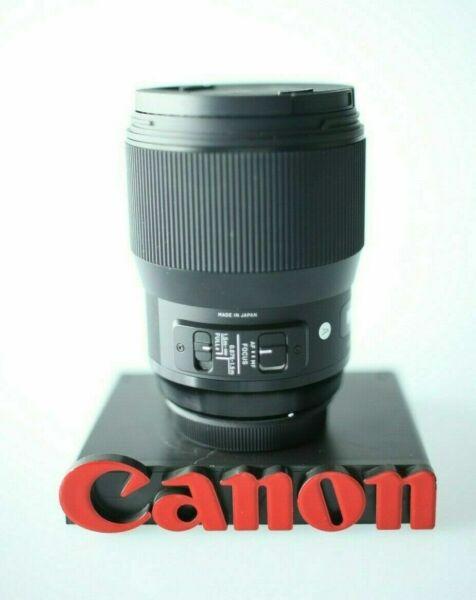 Canon Ef 50 Mm F/1.2l Eos 1.2 L Usm Lentille Sans Boîte Remise En Ligne