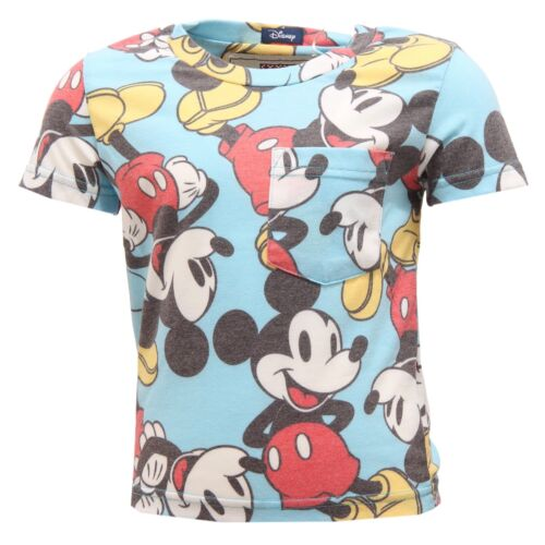 0242S maglia bimbo MC2 SAINT BARTH EDEN DISNEY MICKEY multicolor tshirt kid