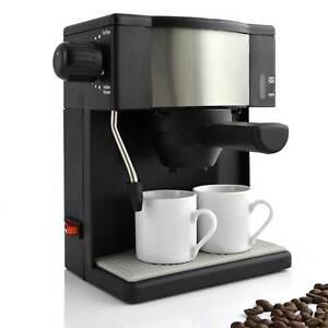 kaffee express maschine kaffeemaschine teebereiter inkl 2 porzellantassen tee ebay. Black Bedroom Furniture Sets. Home Design Ideas