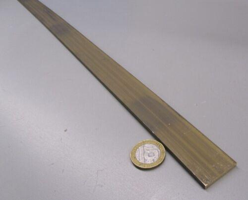 """385 Brass Flat Bar 1//8/"""" Thick x 1.0/"""" Wide x 4 Foot Length"""