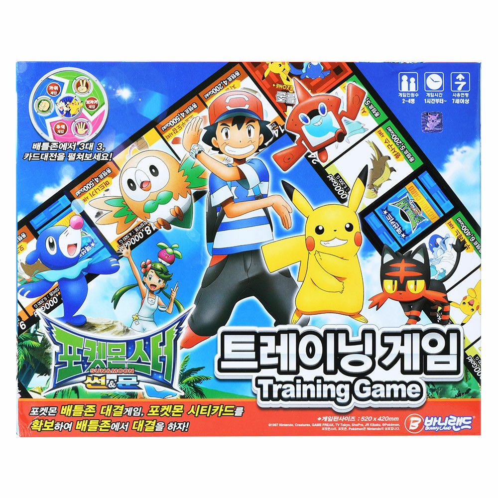 Bunny Land Pokemon Tranining Game Board Game Card Games