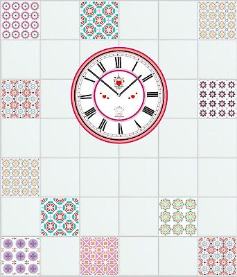 """Mosaic Pattern Stickers Transfers For 150mm x 150mm /& 6/"""" inch Square Tiles GT26"""
