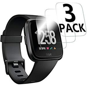 Fitbit-Versa-Tempered-Glass-Screen-Protector-Saver-Shield-Cover-3-Pack