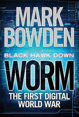 1 of 1 - Worm: The First Digital World War by Mark Bowden Large Paperback