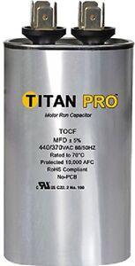 Titan Tocf7 5 7 5 Mfd 370 440v Dual Rated Oval Run