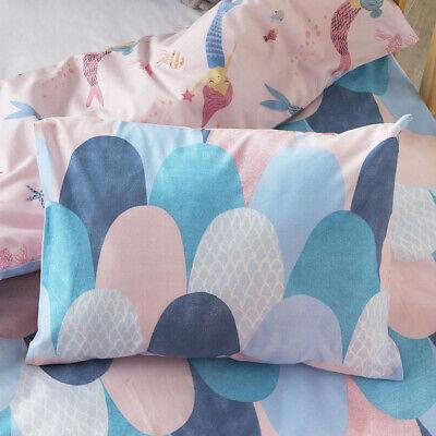 Adairs Kids Mermaid Dreaming Cot Quilt Cover Set BNIP RRP $99.99
