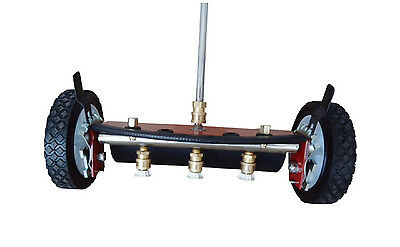 """PRESSURE WASHER WATER BROOM Commercial - 4,000 PSI & 10.5 GPM Max - 14"""" Width"""