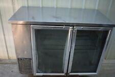 2014 True Tbb 24 48g S Ld Stainless Steel Back Bar Refrigerator