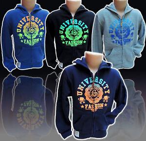 842-Jungen-SWEATJACKE-Gr-4-14-Kinder-Sweatshirt-SchnaeppchenCorner-NEU-K-69a