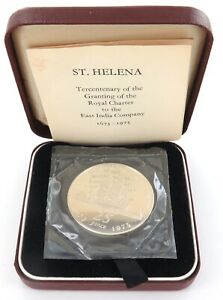 1973-ST-HELENA-STERLING-SILVER-B-UNC-25-PENCE