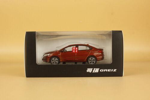 1//43 Honda Greiz diecast model red color