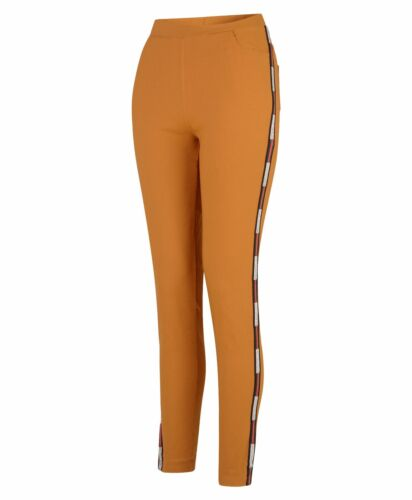 Women Denim Jeggings Full Length Inserts Ladies Trousers Elasticated Waist S-XL