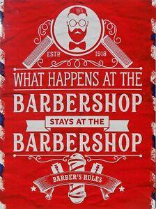 Placa-Metal-Vintage-Barber-Shop-What-Happens-40-X-30CM