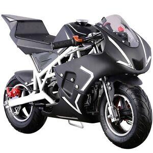 Details about Gas Pocket Bike motorbike Scooter 40cc Epa engine Motorcycle  kids Teens Mini