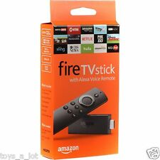 Amazon Fire TV Stick w/Alexa Voice Remote Streaming Media Player Gen 2 NEW STICK