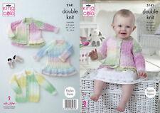 Sirdar Snuggly Jolly DK Girls cardigan  Knitting Pattern 2464 age 2 to 13 years