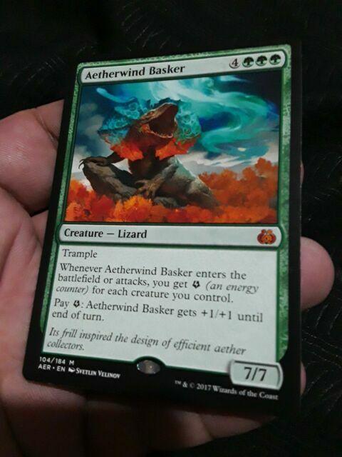 Aetherwind Basker Near Mint Normal English Magic Card Aether Revolt MTG TCG