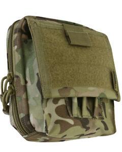 NEW-KOMBAT-TACTICAL-MOLLE-SPECIAL-OP-039-S-MAP-CASE-WEBBING-POUCH-600D-BTP-CAMO
