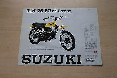 Prospekt 197? Street Price Kanada Inventive 166441 Suzuki Ts 75 Colt Tm 75 Mini Cross