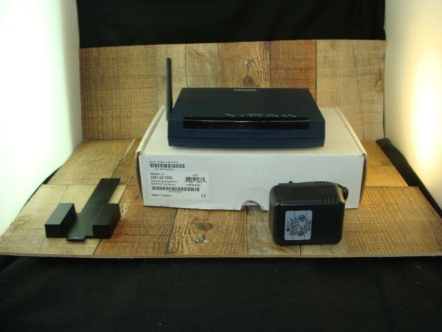 Netopia 3300 Series 54 Mbps 4-Port 10/100 Wireless G Router (3347-02-1006) New