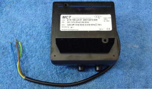Arandela de presión 240 V Ignición Transformador Sparker Caldera MCT Z10 100 LH 21