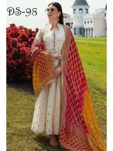 Anarkali Suit Pakistani Indian Bollywood Salwar Kameez Dress Wedding wear