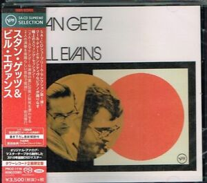 Stan-Getz-amp-Bill-Evans-Japan-SACD-w-OBI-NEW-SEALED-Tower-Records