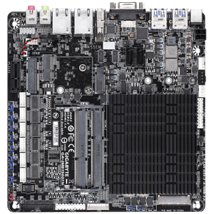 Gigabyte IMB1900TN 4 x 2.42 GHz, IPC Embedded Mainboard, Thin-ITX, Celeron CPU