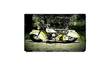 1947 Indian Chief Bike Motorcycle A4 Photo Poster