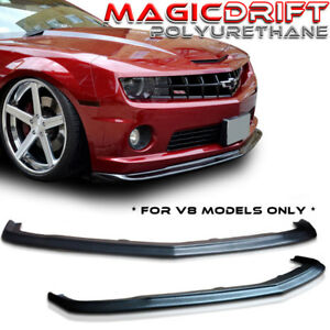 2010 2011 2013 chevy camaro v8 ss urethane front lip spoiler zl1 style pu pp slp ebay. Black Bedroom Furniture Sets. Home Design Ideas