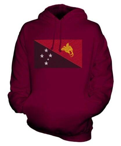 Papua Neu Guinea Scribble Flag Unisex Kapuzenpulli Top Geschenk Niugini