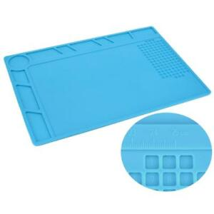 Heat-Resistant-Tool-Pad-Mat-Multifunction-Soldering-Station-Insulation-Silicone