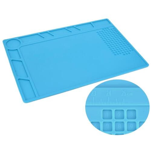 Soldering Mat Repair Cell Phone Electronics Heat Magnetic Large Pad Desk Solder