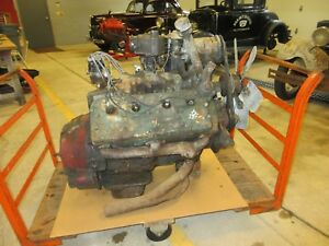 FORD FLATHEAD TRUCK ENGINE 8EQ 337 CUBIC INCH 1948-1951 HOT ROD
