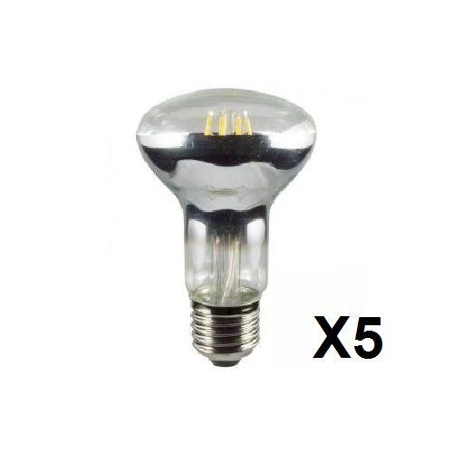 multi pk HLO0032 5x 4W E27 économie d/'énergie R63 4W led réflecteur lampe 4000K = 42W