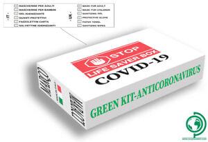 Box-Bianco-Kit-della-salute-Protezioni-Gel-Igienizzante-Salviette-Fazzoletti